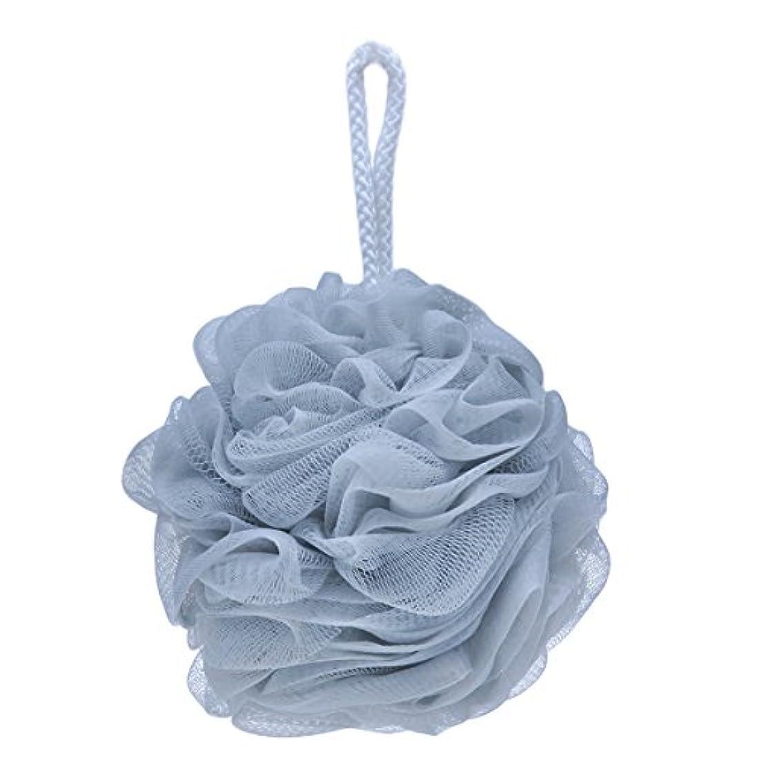 枕吹雪鋭くSUPERMOOM バスボール 泡立てネット ボール シャワー ナイロン 4種類の色選択