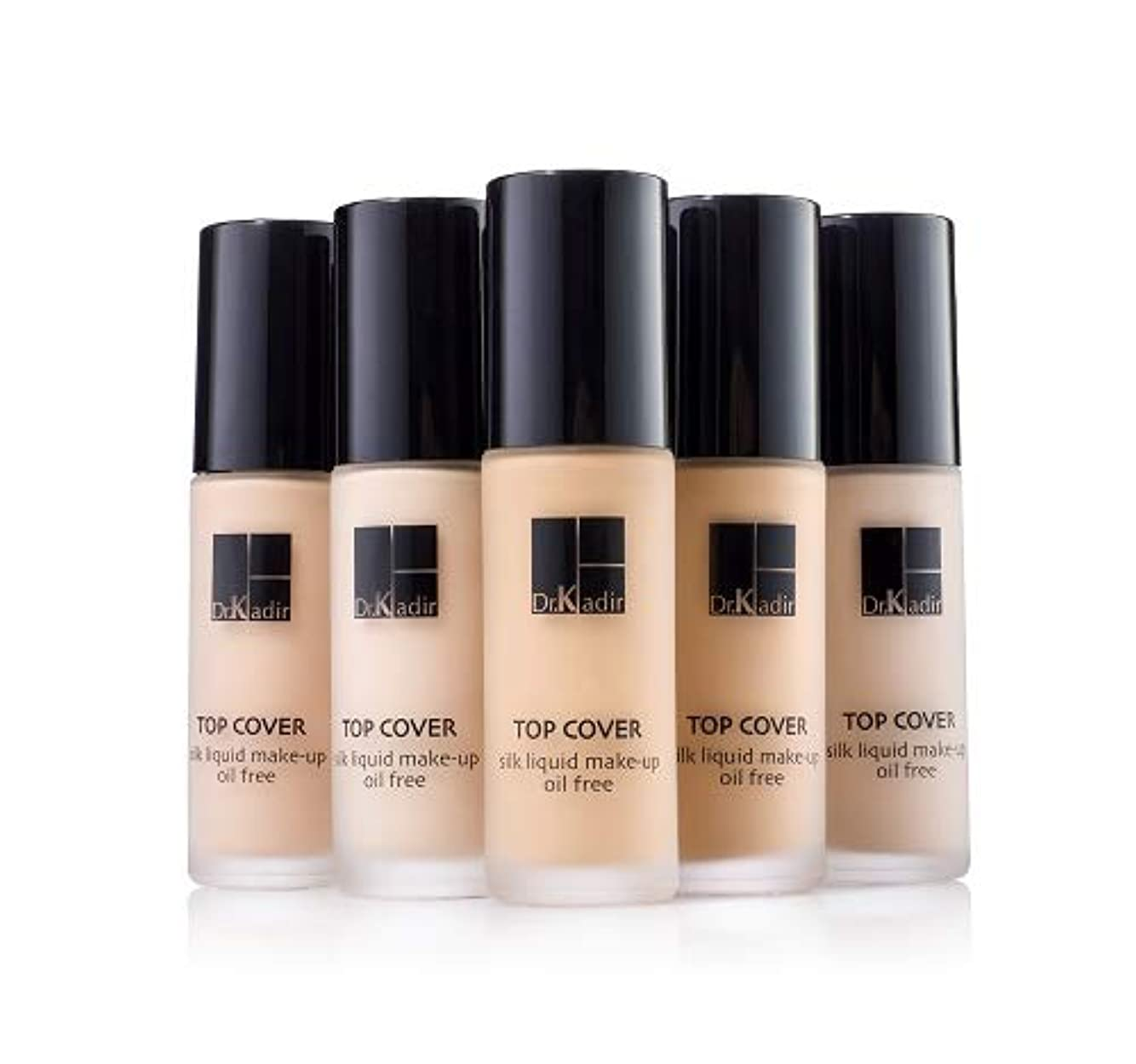 彼女の延期するサンプルDr. Kadir Top Cover Silk Liquid Make Up Oil Free 30ml (3)