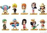 Rhea One Piece One Piece 7–11セブンEleven海外限定フルセットルフィゾロNami Usopp Sanji Chopper Robin Empress
