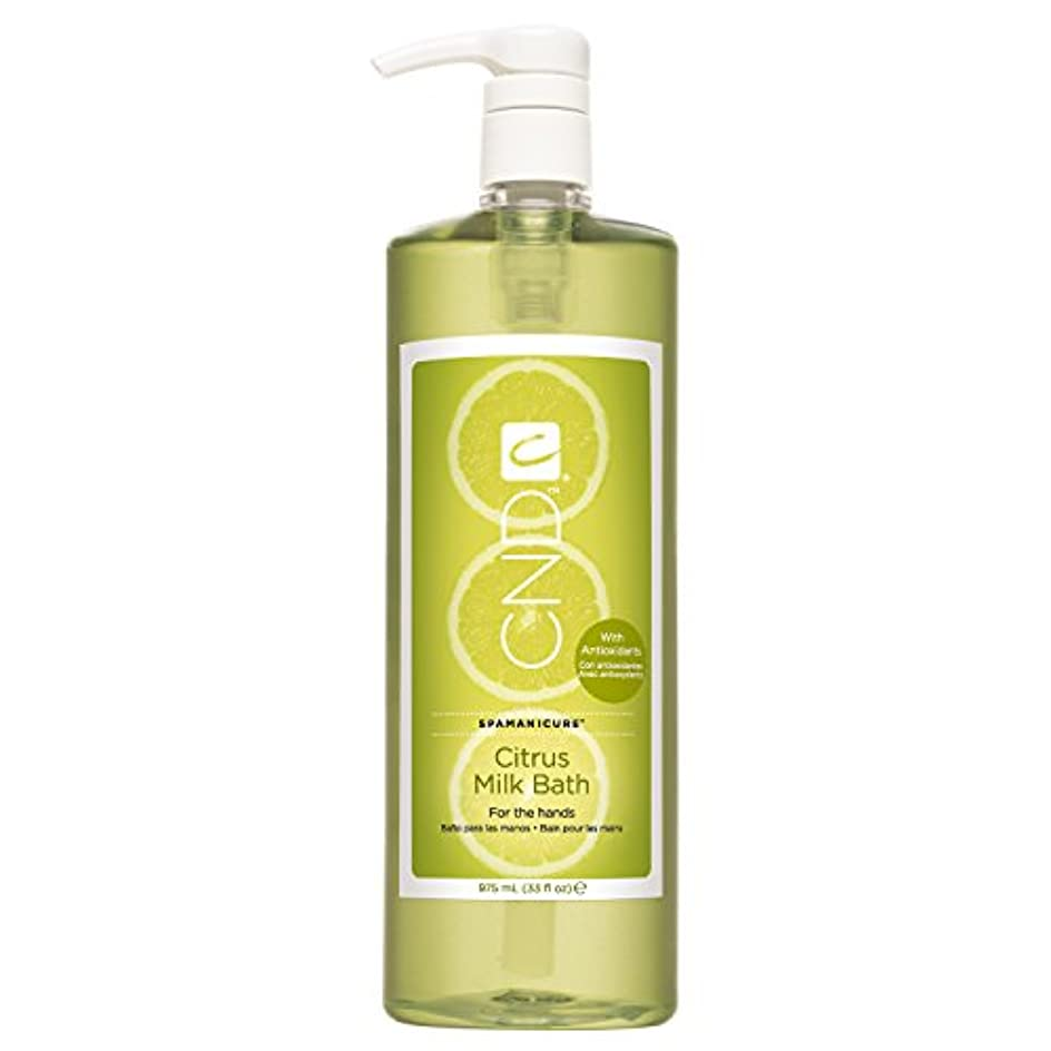 抑圧回転比較的CND SpaManicure - Citrus Milk Bath - 33oz