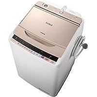 日立 全自動洗濯機 ビートウォッシュ 8kg シャンパン BW-V80B N