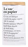 Le sac en Papier紙袋33L収納クラフト紙袋紙袋be pali
