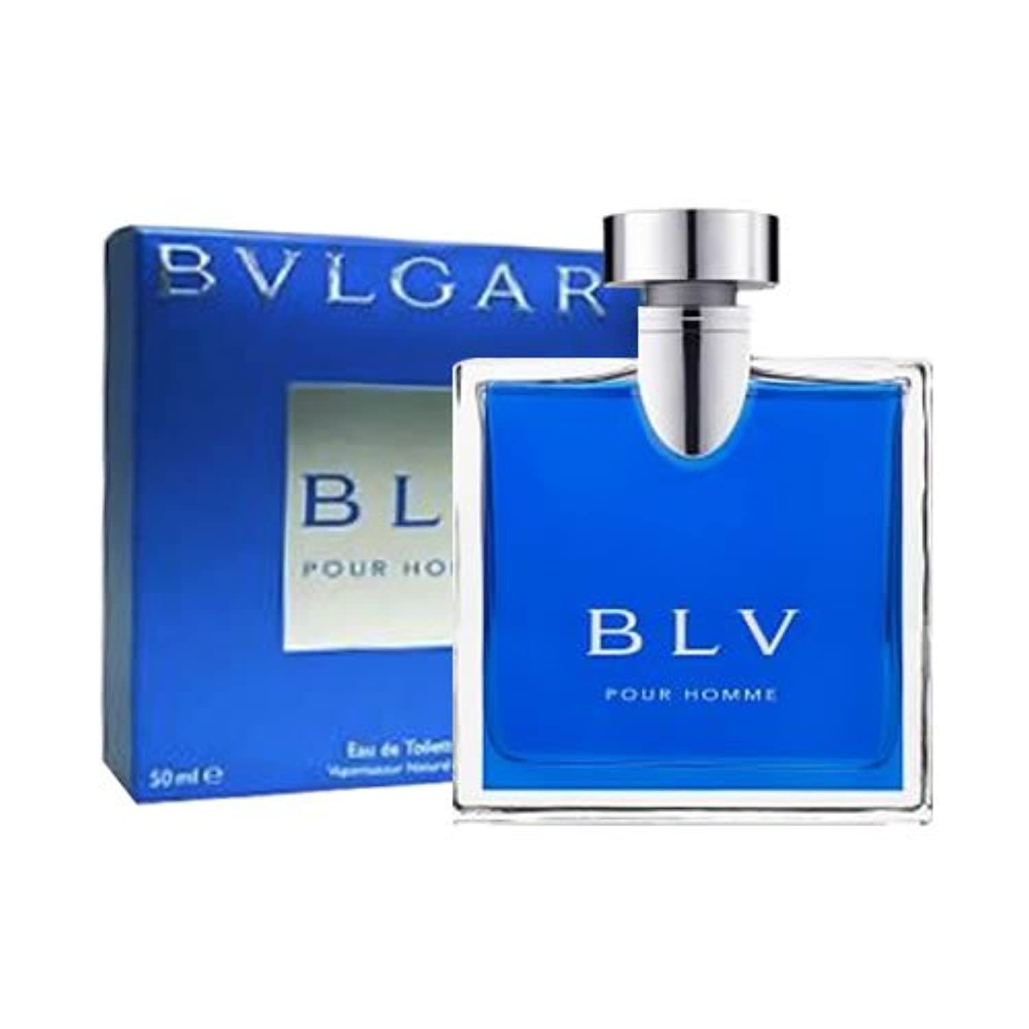 マラドロイト人質マニアックブルガリ BVLGARI ブルー プールオム EDT 50ml [並行輸入品]