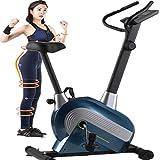 TOP.STAR フィットネスバイク 静音 8段階負荷調節 エアロマグネティックバイク 有酸素運動 トレーニングマシン エアロバイク 室内自転車 メーカー保証1年