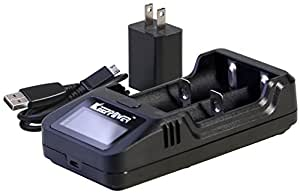 KEEPPOWER 純正 L2 LCD リチウムイオンバッテリー 1A USB高速充電器 (充電器単体)