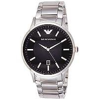 Emporio Armani Men's Sportivo Analog Analog-quartz Silver Watch, (AR2457)