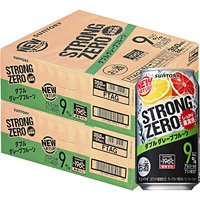 【2ケースパック】-196℃ストロングゼロ ダブルグレープフルーツ 350ml×48缶 350ML*2ケース 1セット