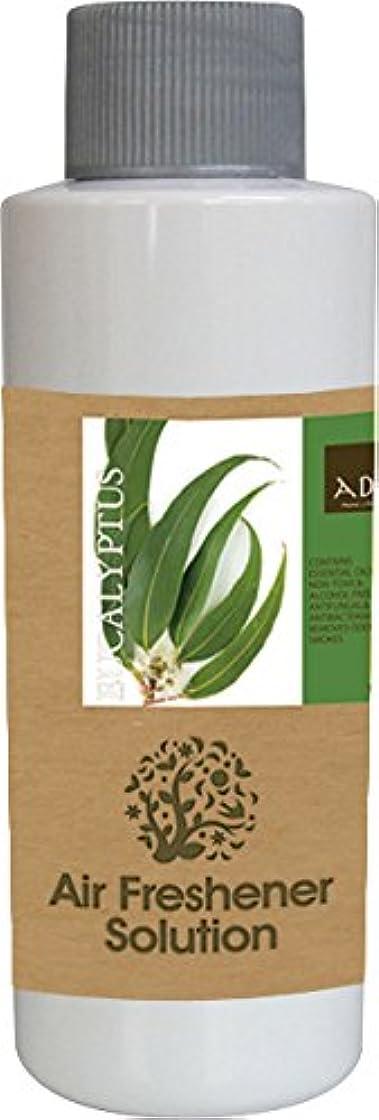 摂動性能まっすぐにするエアーフレッシュナー 芳香剤 アロマ ソリューション ユーカリプタス 120ml