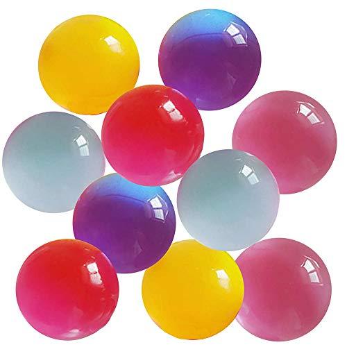 ビッグサイズ 水で膨らむ ジェリーボール ぷよぷよボール 10個セット 色ランダム バブルジェリー 観葉植物 インテリア プレゼント