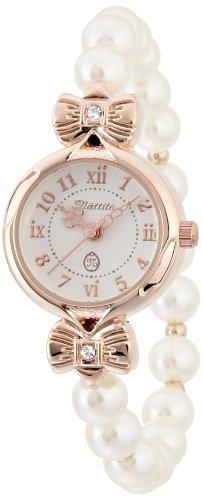 [フィールドワーク]Fieldwork 婦人用腕時計 パーリィ アナログ表示 ピンクゴールド ASS053-C レディース