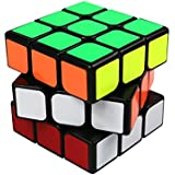 FC MXBB 3x3 PVC Sticker Smooth Speed Puzzle Magic Cube Black -Twist Brain Teasers IQ Toys for Kids 56mm