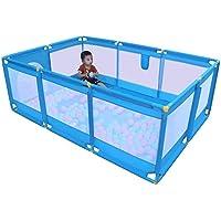 ベビーサークル 赤ちゃんの安全フェンスベビーサークル室内子供たちは庭ベビーサークルポータブルブルーの幼児の遊び場子供がヤードを再生し (色 : Style-2)
