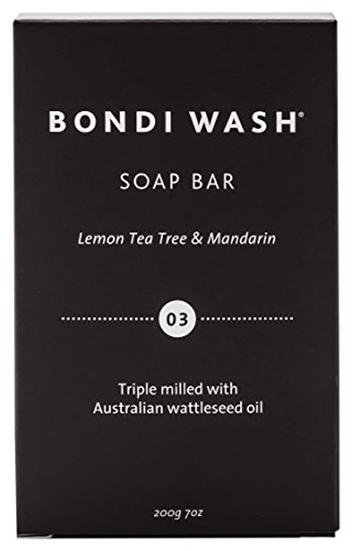 克服する理想的にはシールBONDI WASH ソープバー(固形石鹸) レモンティーツリー&マンダリン 200g