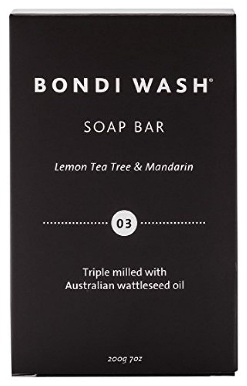 果てしない毒毒BONDI WASH ソープバー(固形石鹸) レモンティーツリー&マンダリン 200g