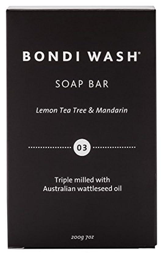 BONDI WASH ソープバー(固形石鹸) レモンティーツリー&マンダリン 200g