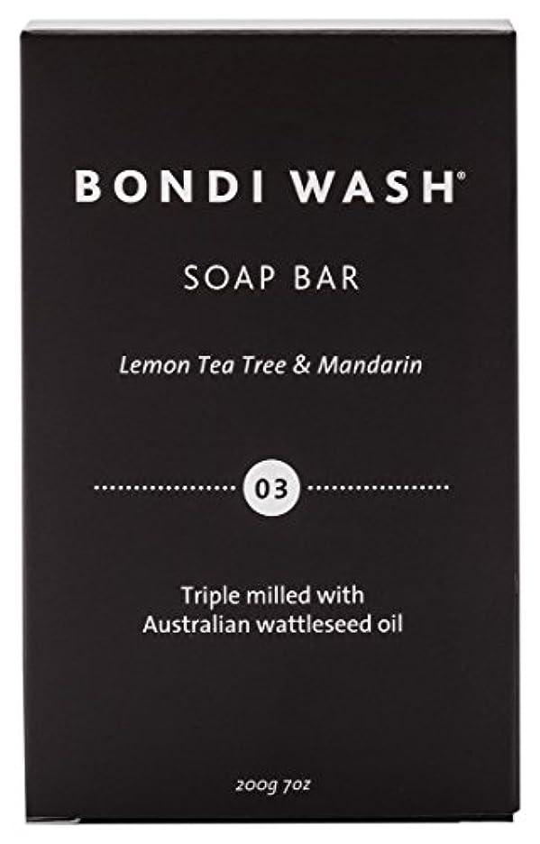敬意モザイク人BONDI WASH ソープバー(固形石鹸) レモンティーツリー&マンダリン 200g