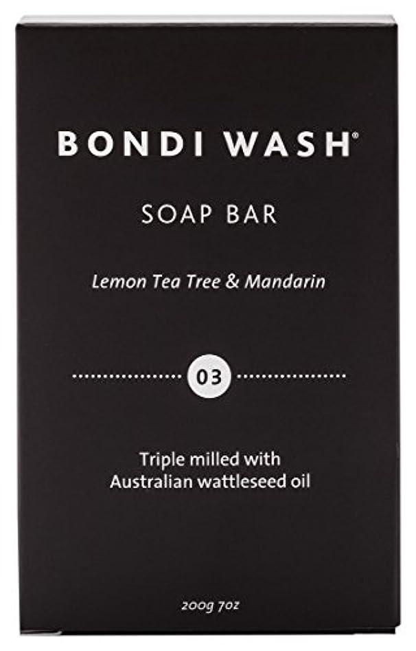 性的回復する結び目BONDI WASH ソープバー(固形石鹸) レモンティーツリー&マンダリン 200g