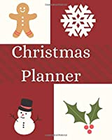 Christmas Planner: Holiday Journal Planner, Stocking stuffer list, Gifts planner, Card list, Calendar, Budget Party and event planner. Great as record and helpful guide. (Holiday Planners)