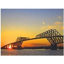 東京都江東区若洲 東京ゲートブリッジのポストカード photo by katagiri 絵葉書ハガキ
