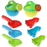 JAGENIE 3pcs/set Children Sand Beach Toys Watering Can Set Bathing Playing Tools Simulation