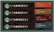 Starbucks Nespresso Assortment Bundle (Pack of 4)