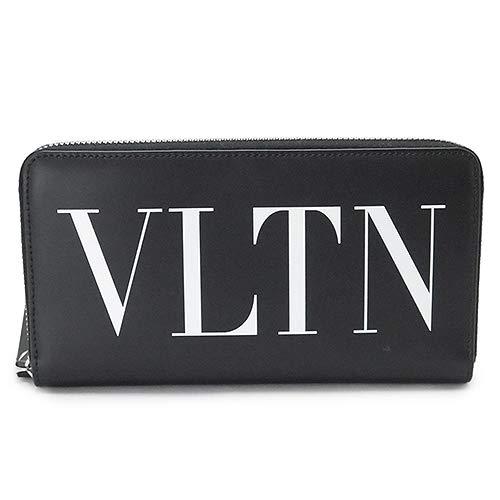 [ヴァレンティノ]長財布 VALENTINO メンズ VLTN ラウンドファスナー 財布 レザー ブラック QY0P0570 LVN 0NO/NERO [並行輸入品]