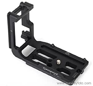 SUNWAYFOTO PCL-5DIII L型クイックリリースプレート Canon キャノン イオス EOS 5D Mark III ボディ専用 アルカスイスタイプ PCL-5DIII 【正規日本代理店】