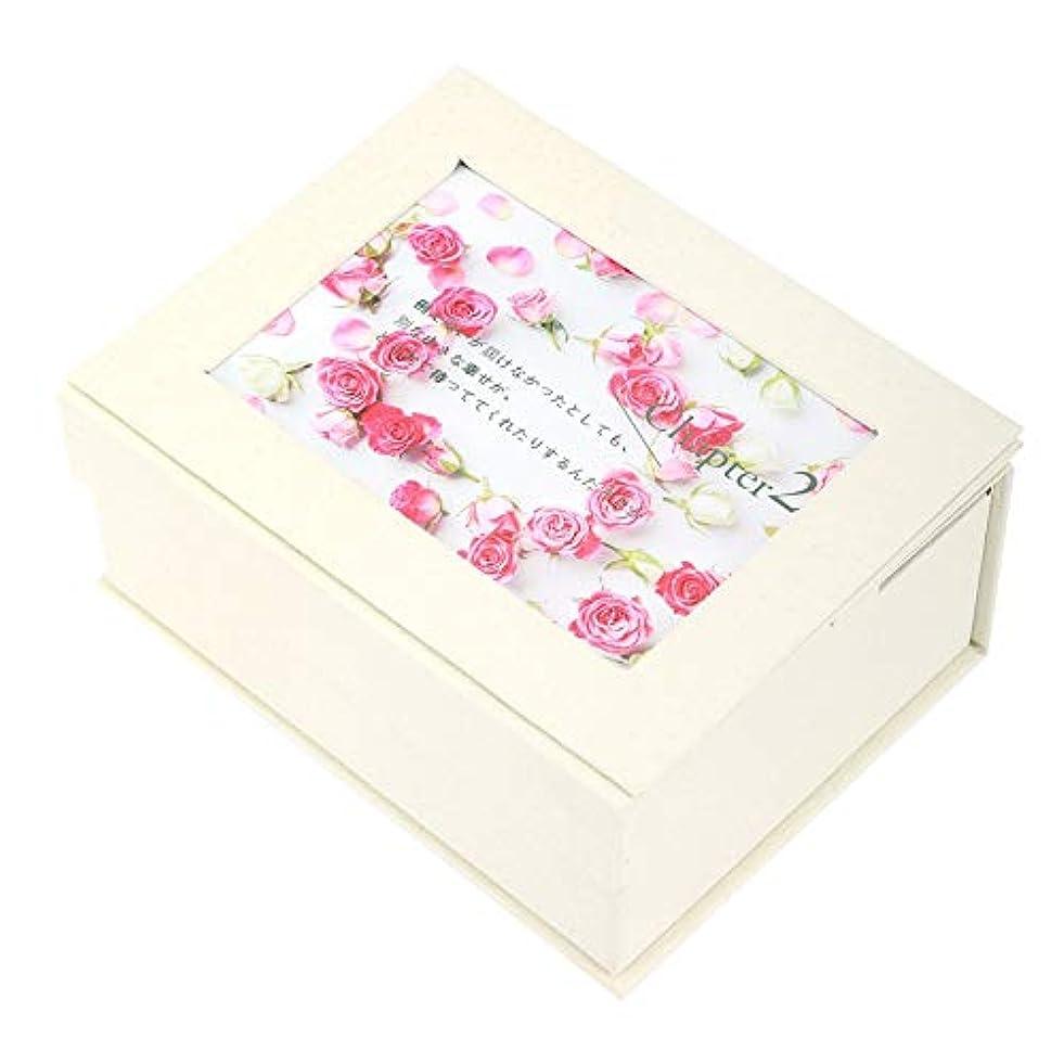フローティング野ウサギ関係ない石鹸の花のギフト用の箱、石鹸の花のギフト用の箱の女の子のお母さんの誕生日のクリスマスの結婚式のギフトの写真フレームが付いている花の石鹸(#1)