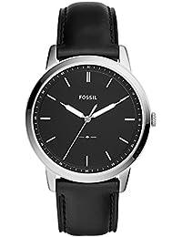 フォッシル(FOSSIL) メンズ 腕時計 THE MINIMALIST 3H(ミニマリスト) 【型番:FS5398】【ブラック×ブラック/**】
