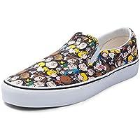 (バンズ)Vans スリッポン スヌーピー・靴・スニーカー Slip On Peanuts Gang Sneaker Peanuts ピーナッツギャング [並行輸入品]