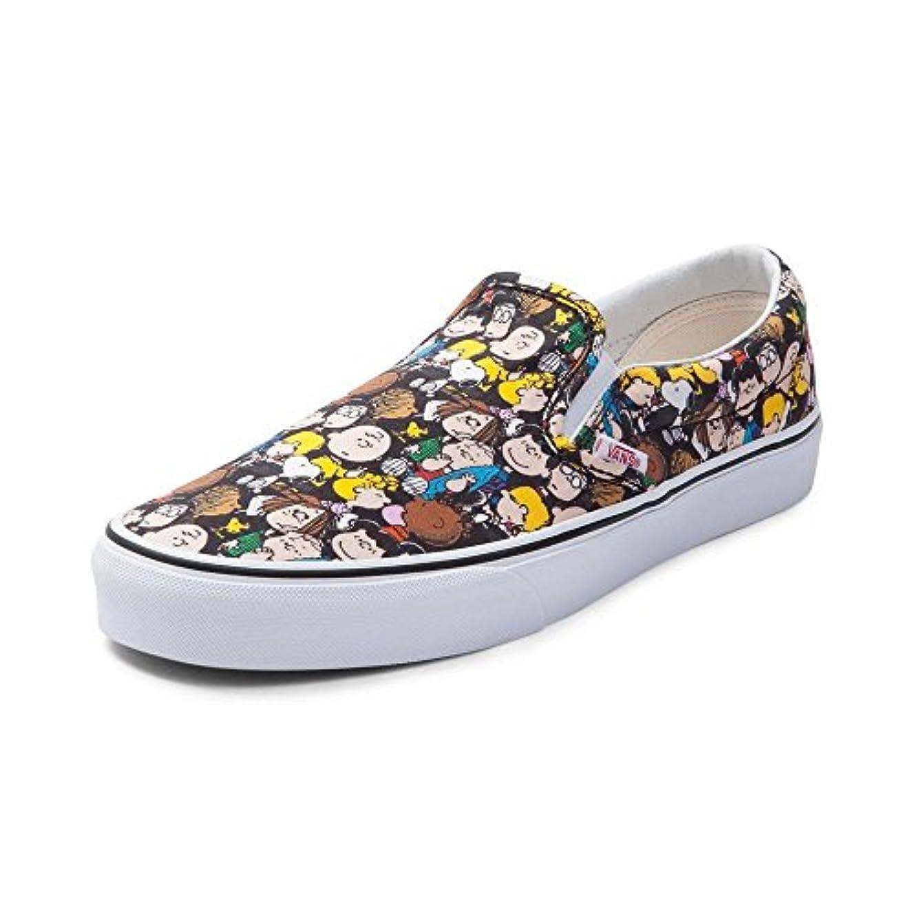ドリンク泣き叫ぶアルバニー(バンズ)Vans スリッポン スヌーピー?靴?スニーカー Slip On Peanuts Gang Sneaker Peanuts ピーナッツギャング M:10, W:11.5 (メンズ28cm, レディース28.5cm...