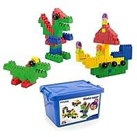 Miniland Educational MLE32338 School Blocks Super (Pack of 96) [並行輸入品]