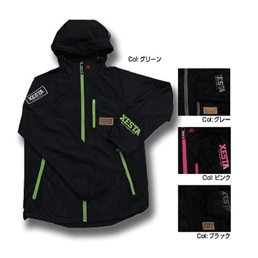 発火するトレース欠席ゼスタ(XESTA) ウィンドストップジャケット ショッキングピンク M