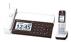 パナソニック デジタルコードレスFAX 子機1台付き スマホ連動 Wi-Fi搭載 ピアノホワイト KX-PD102DL-W