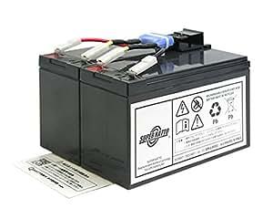 【ぐっぷら.comオリジナル】 【完全互換品】 Smart UPS750(SUA750JB)用バッテリーキット RBC48L-S(RBC48L互換) 【大容量タイプ】