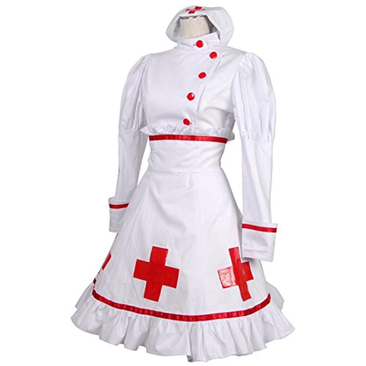 クロスマーク レトロ ナース服 衣装 コスチューム レディースサイズ ゾンビ ハロウィン Mサイズ
