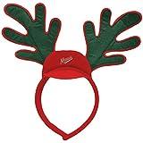 NHL ホッケー ミネソタ ワイルド トナカイ 耳 ヘッドバンド パーティー クリスマス ホリデー