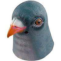 Gmasking天然ラテックスグリーンPigeonマスクコスチューム+ Gmaskヘルメットキーチェーン
