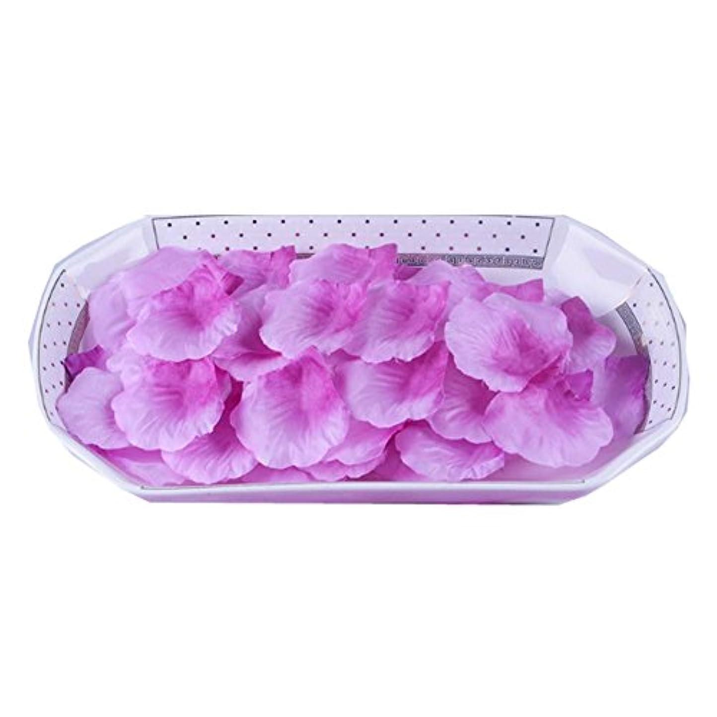 フォルダ設置家庭結婚式装飾品3000台の人工ローズ花びら