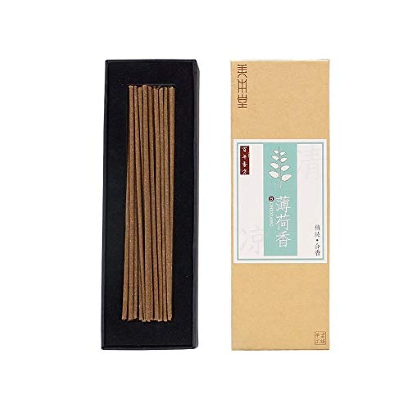 の面ではマージ正確さshanbentang Incense Sticks Classical Chinese Incense、古代の知恵、アロマの千年前、ミント味( 5.5in ) 5.5in ブラウン