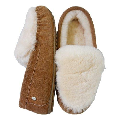 [해외][에뮤 호주] EMU Australia CAIRNS REVERSE FUR (케언즈 역 퍼) 양모 모카신 국내 배송 정품/[Emu Australia] EMU Australia CAIRNS REVERSE FUR (Cairns Reverse Fur) Sheepskin Moccasin Domestic shipping genuine