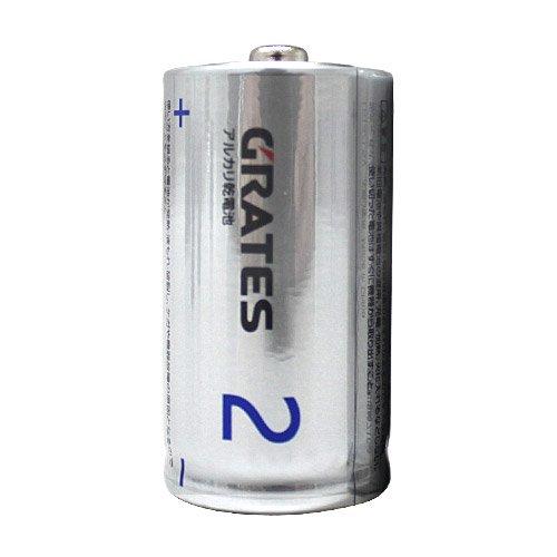 アルカリ乾電池 単2形 2本...