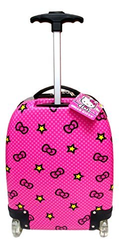 Hello Kitty ABS Hard Shell Rolling Luggage Suitcase Bag [並行輸入品]