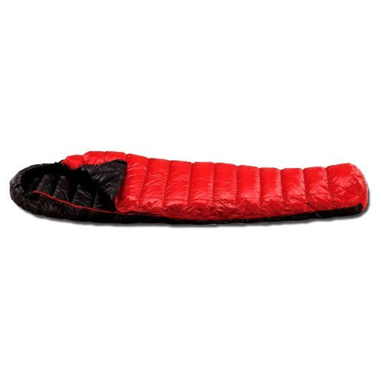 積分つかの間等しいイスカ(ISUKA) 寝袋 エア180X レッド [最低使用温度8度]