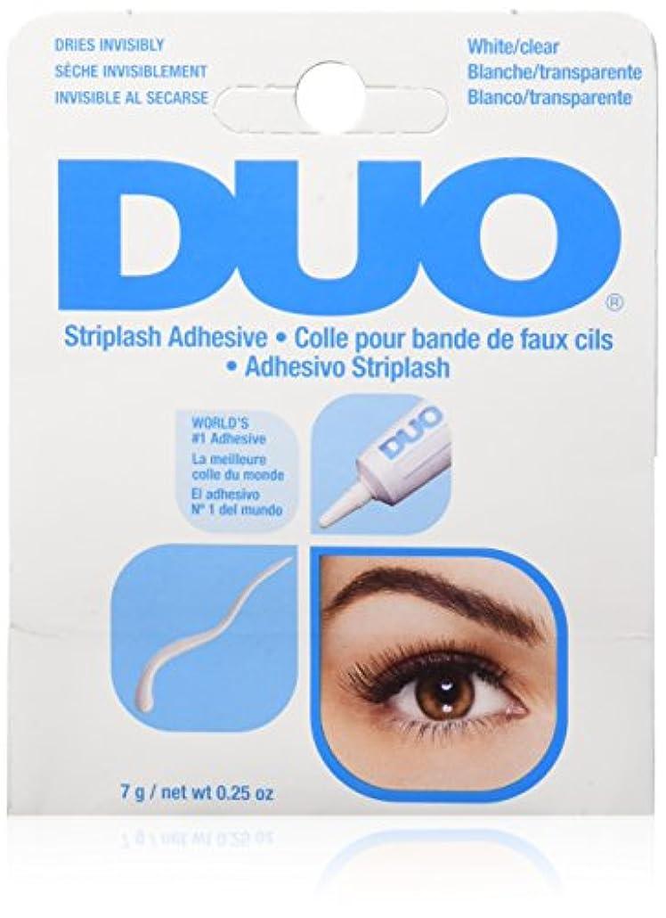やりがいのある鋭く睡眠DUO Eyelash Adhesive - White/Clear (並行輸入品)