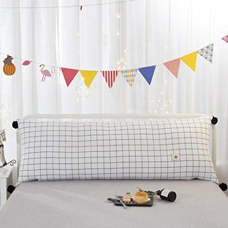 海峡ひも非アクティブ遺伝的ベッドサイドダブル枕ソファ大背もたれスタイルは、かわいいプリンセス風のベッド枕枕を選択することができます Zsetop (Color : B, Size : 180*60cm)
