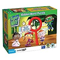 Super Why In the Kitchen 60 pc Hidden Word Jigsaw Puzzle