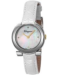 [フェラガモ]Ferragamo 腕時計 ガンチーニ ホワイトパール文字盤 FAP010016 レディース 【並行輸入品】