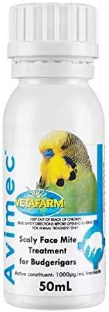 Vetafarm Avimec Scaly Face and Mite Treatment 50 ml