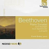 ベートーヴェン : ピアノ・ソナタ集 (Beethoven : Piano Sonatas no.14 'Moonlight' , no.23 'Appassionata' , no.31 op.110 / Frank Braley (piano)) [輸入盤]
